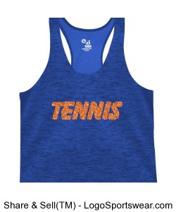 Glitter TENNIS Tank Design Zoom