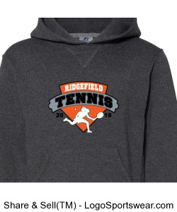 Hoodie - Girls Tennis 2018 Design Zoom